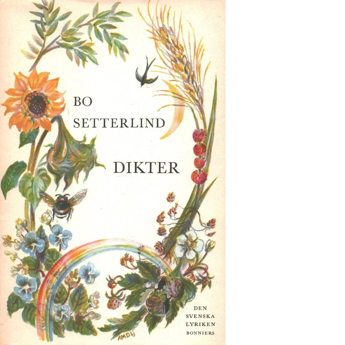Dikter - Setterlind, Bo