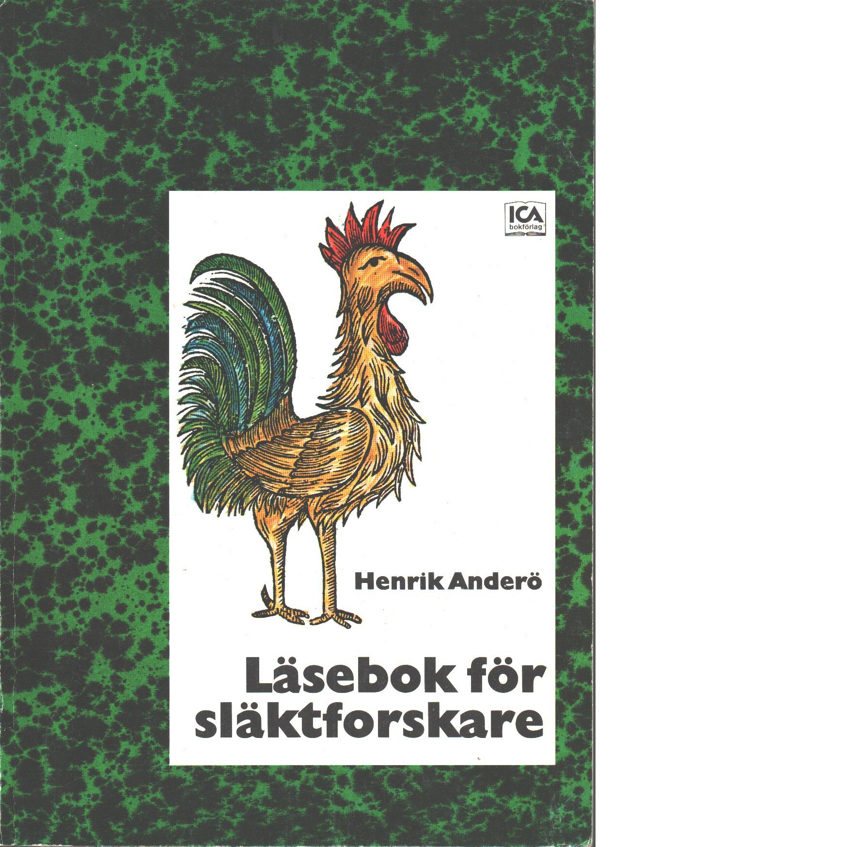 Läsebok för släktforskare - Anderö, Henrik