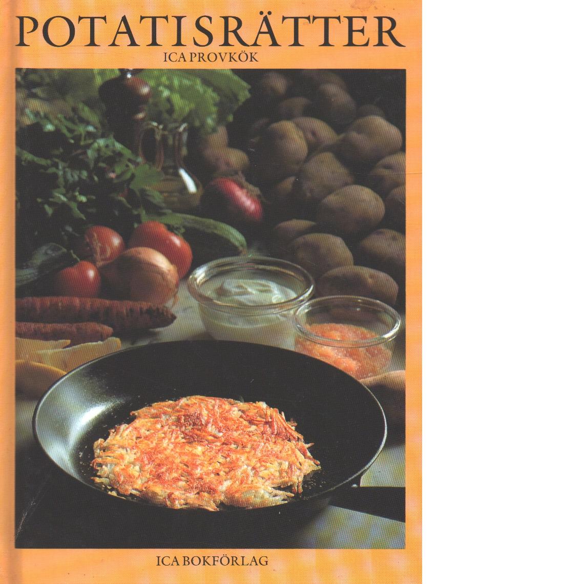 Potatisrätter - Sahlén, Kerstin