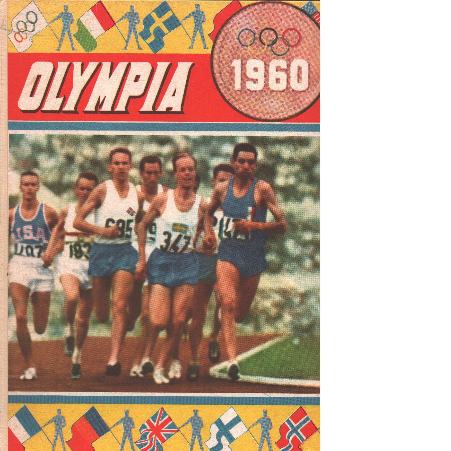 Olympia 1960 : en bokfilm om 8:e olympiska vinterspelen i squaw valley och 17:e olympiska sommarspelen i rom - Nilsson, Tore