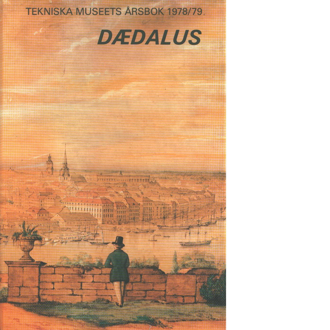 Tekniska museets årsbok. Årg. 48(1978/79) - Dædalus
