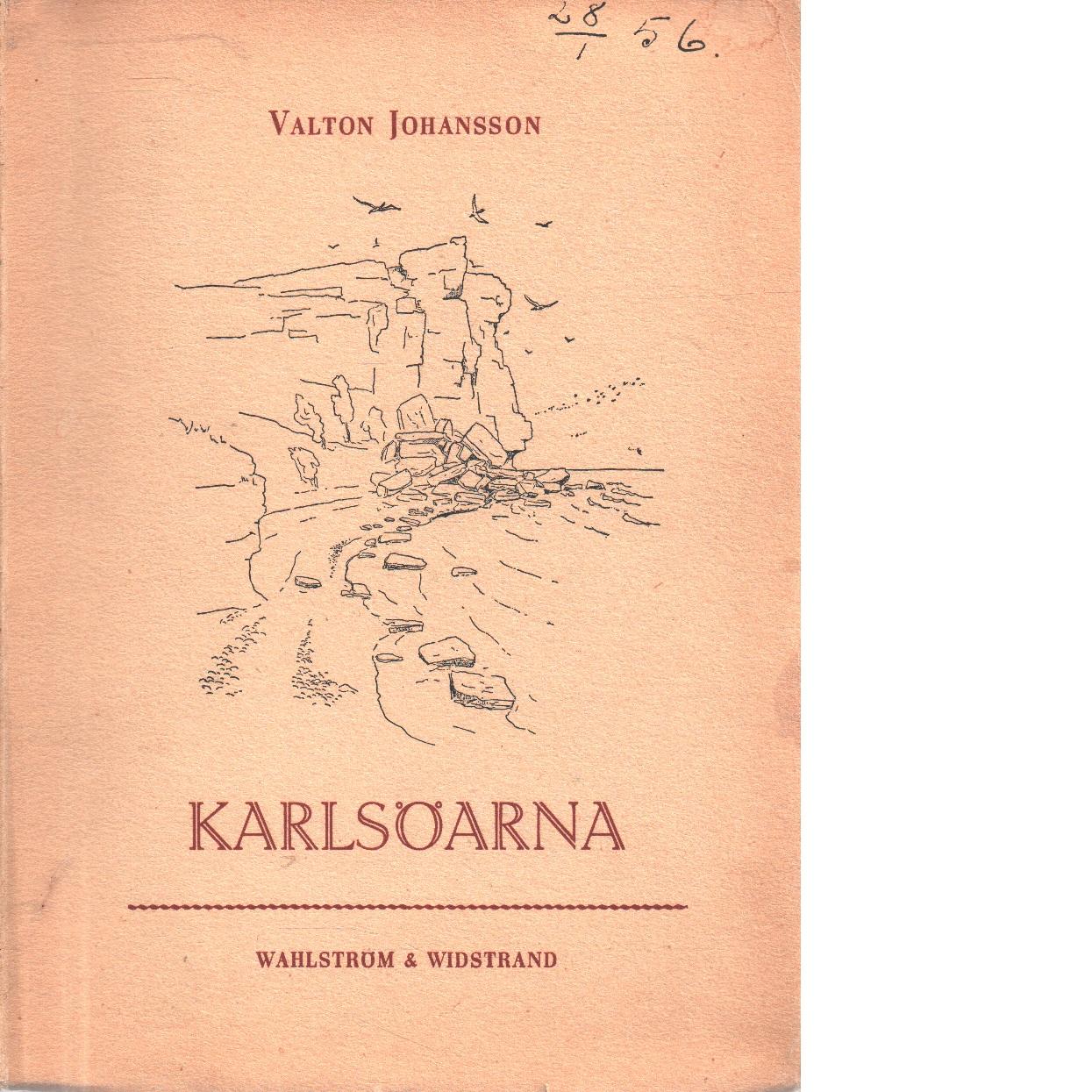 Karlsöarna - Johansson, Valton