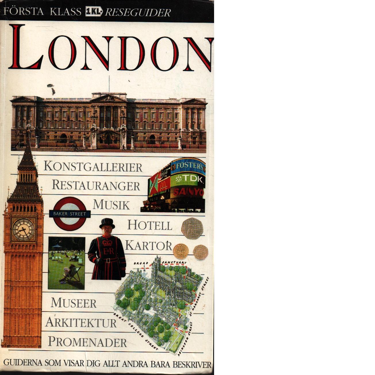 London : [konstgallerier, restauranger, musik, hotell, kartor . - Red.