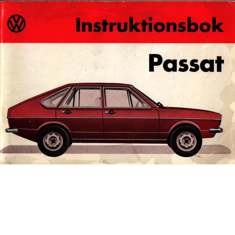 Instruktionsbok Passat 1973 - Red.