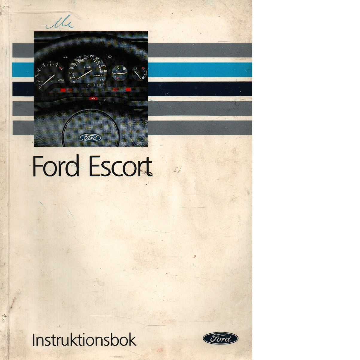 Instruktionsbok Ford Escort - Red.