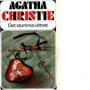 Det stumma vittnet - Christie, Agatha