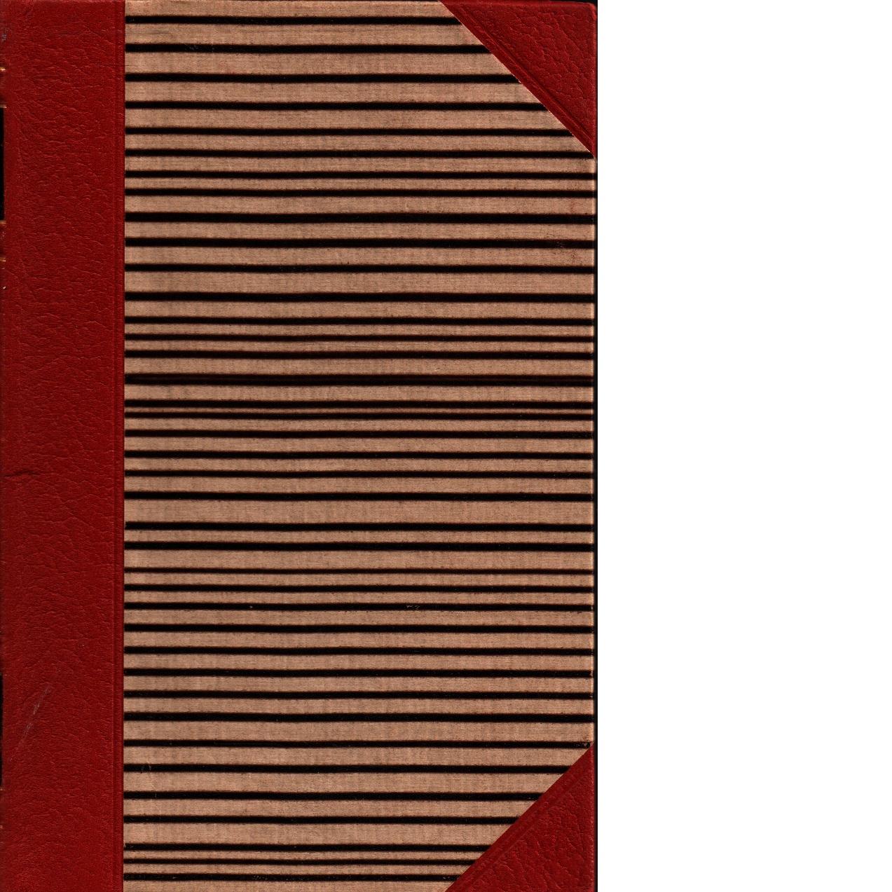 Skrifter. D. 8 Dikter, sömngångarnätter och Ordalek och småkonst  samt En blå bok 1 - Strindberg, August