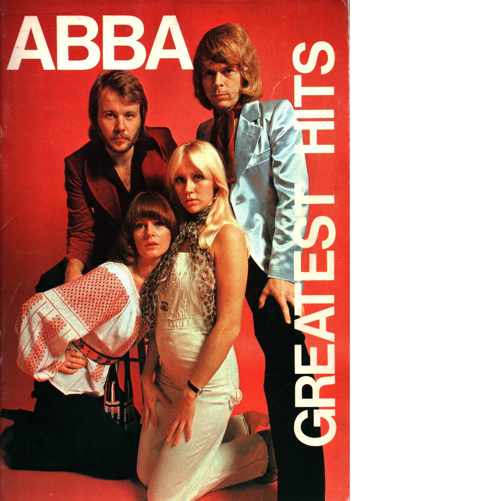 ABBA greatest hits. [Vol. 1] [Musiktryck] - Andersson, Benny Och Anderson, Stig Samt Ulvaeus, Björn