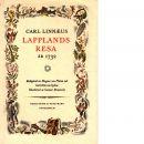 Lapplands resa :Caroli Linnæi Iter Lapponicum Dei gratia institutum 1732 - Linné, Carl von,