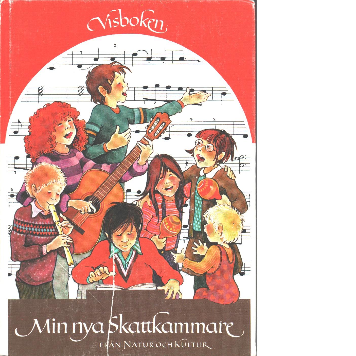 Min nya skattkammare Visboken - Red.