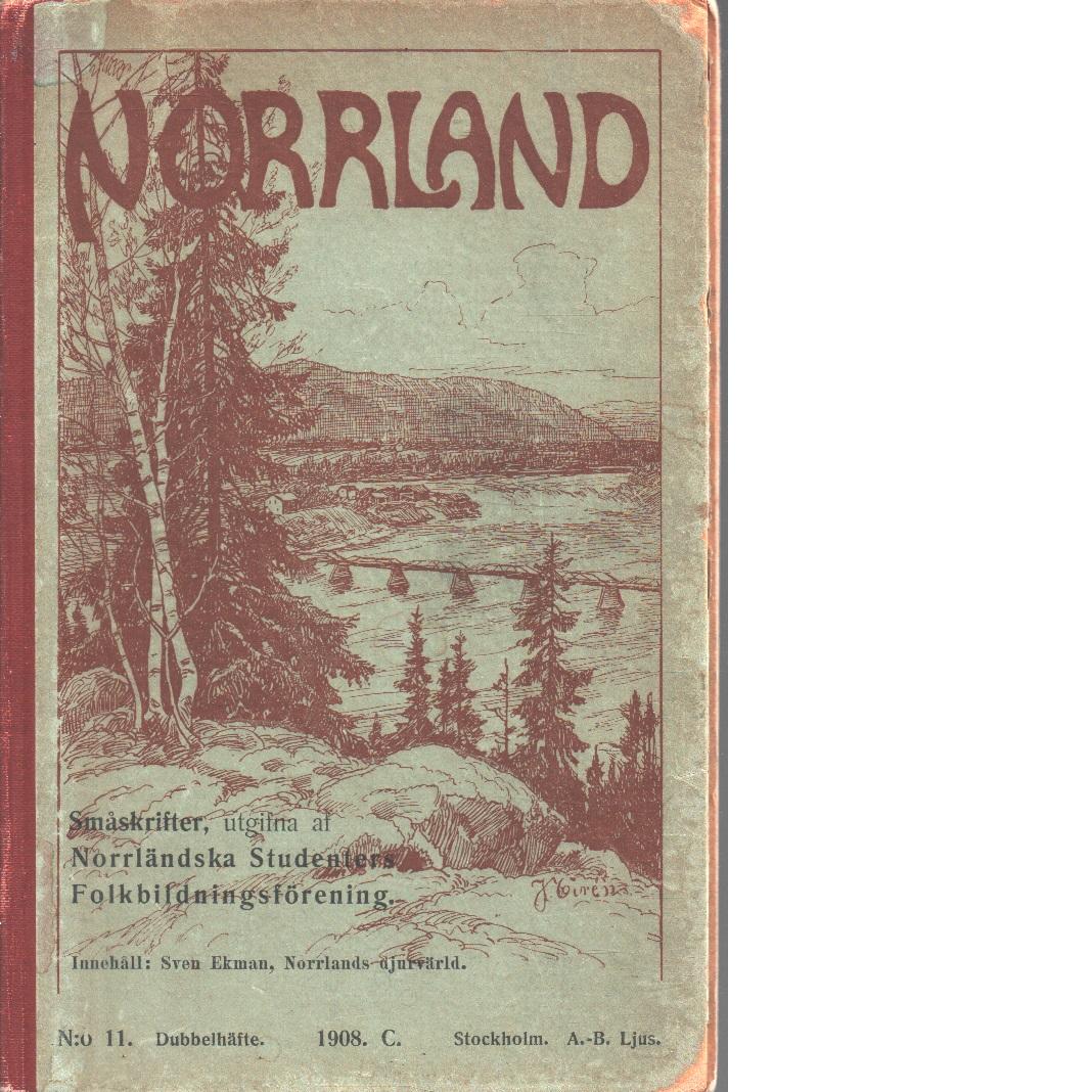Norrlands djurvärld - Ekman, Sven