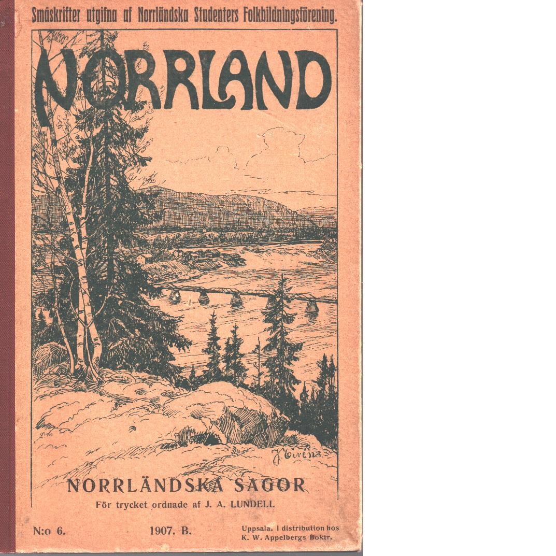 Norrländska sagor - Red.
