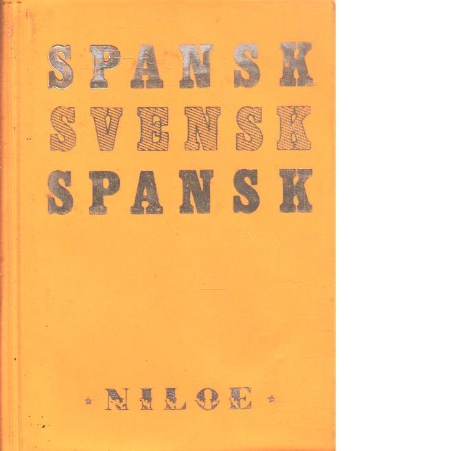 Niloés spansk - svenska  svensk-spanska - Red.