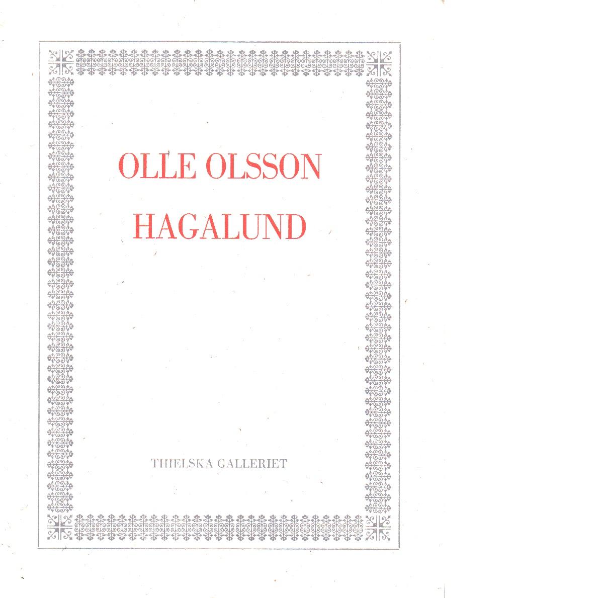 Olle Olsson Hagalund - Linde, Ulf