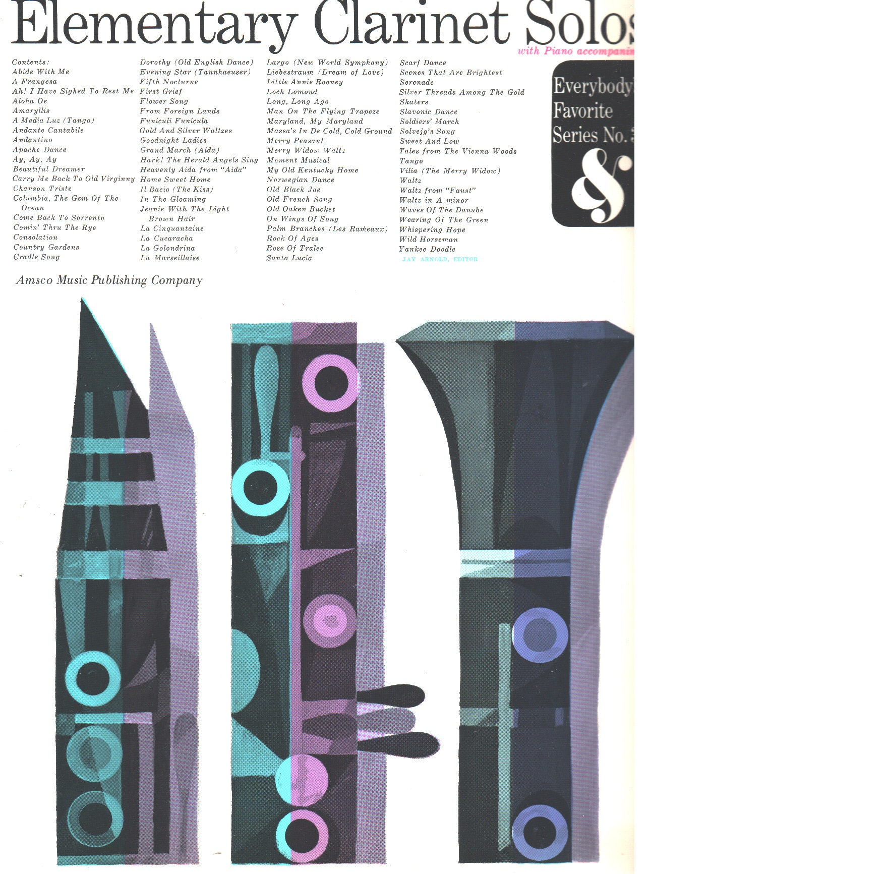 Elementary Clarinet Solos: Everybody's Favorite Series, Volym 33 - Red.