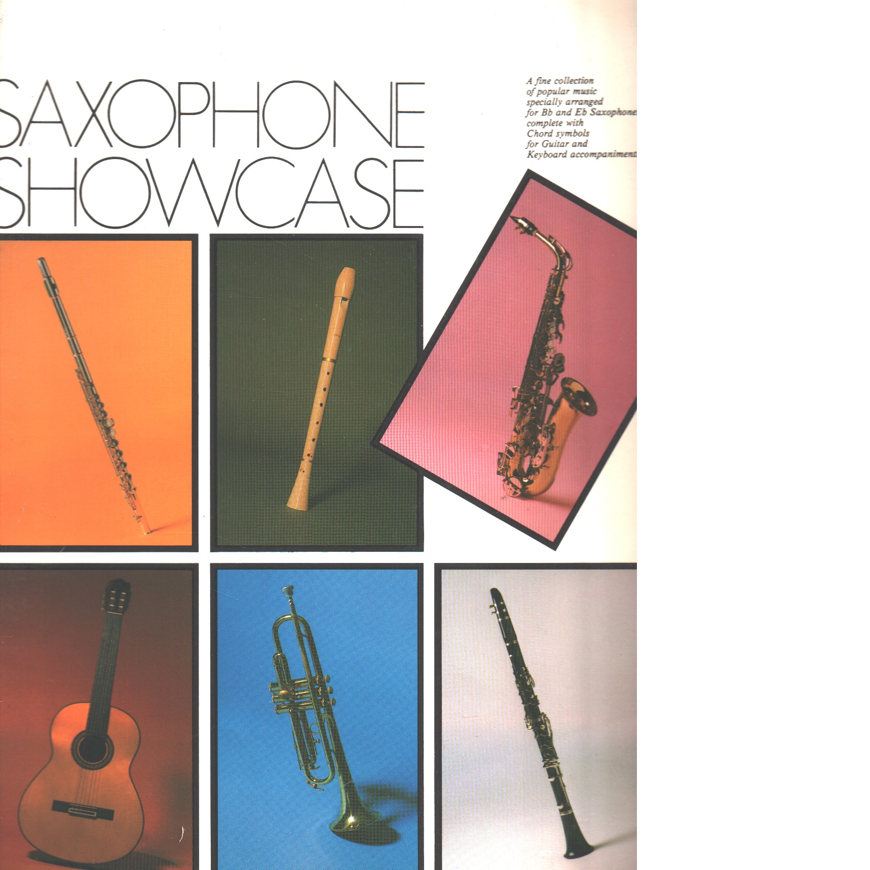 SAXOPHONE SHOWCASE - Red.