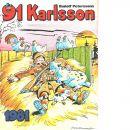 91 Karlsson 1981 - Petersson, Rudolf