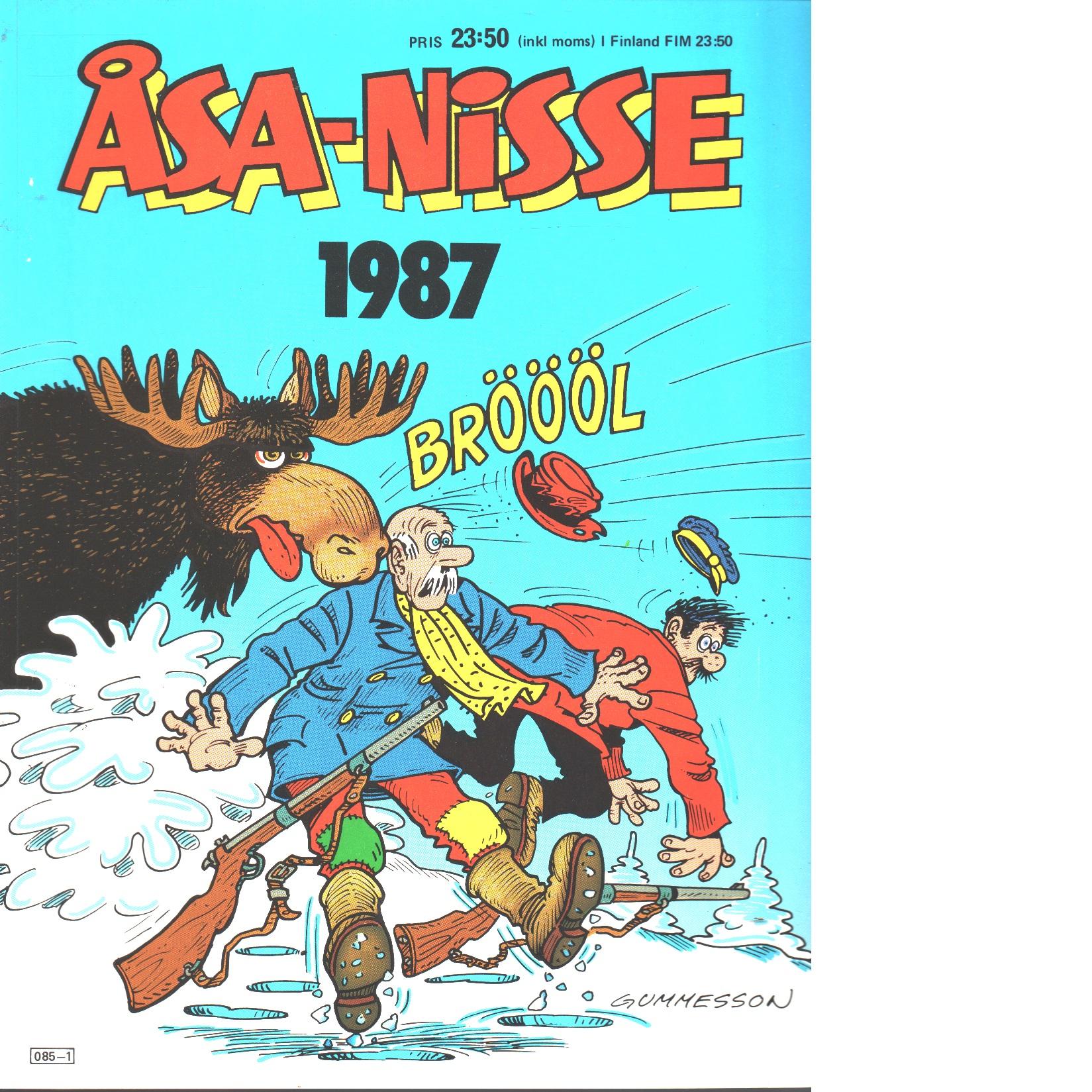 ÅSA-NISSE Julen 1987 - Bergendorff, Leif