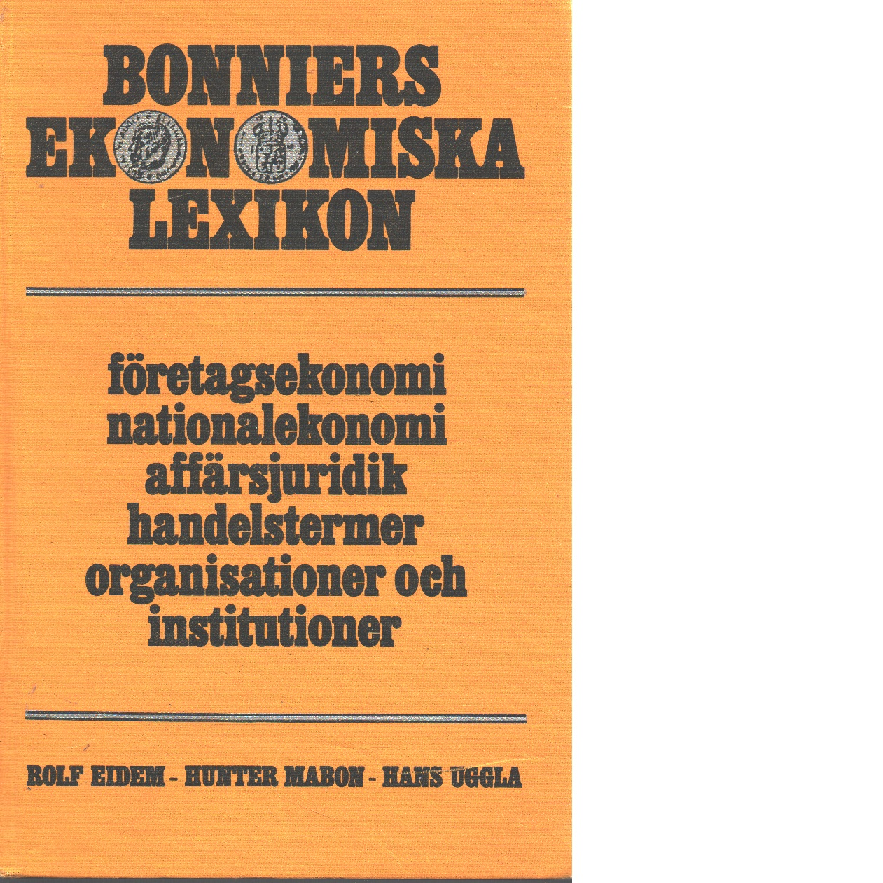 Bonniers ekonomiska lexikon - Red.
