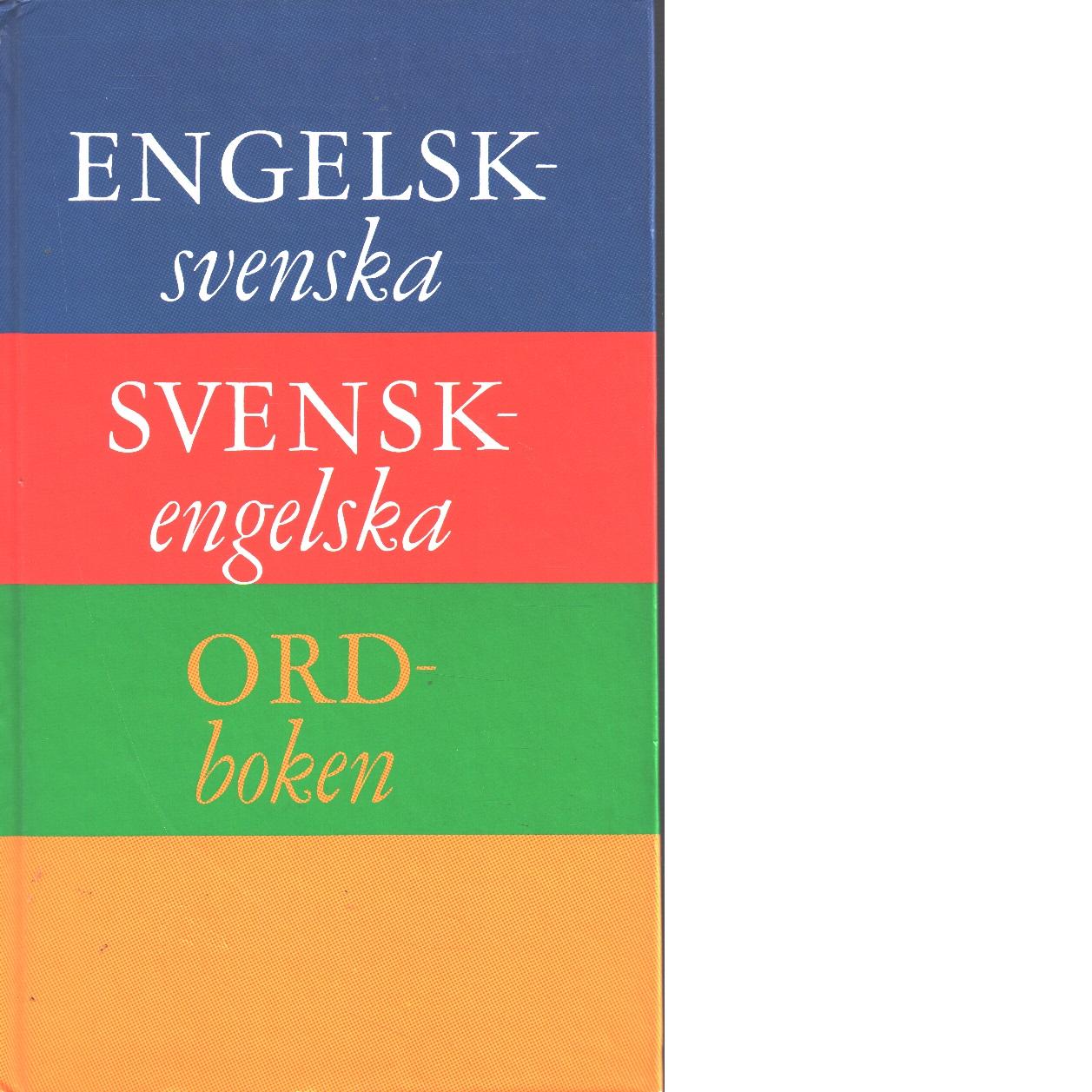 Engelsk-svenska, svensk-engelska ordboken - Red.