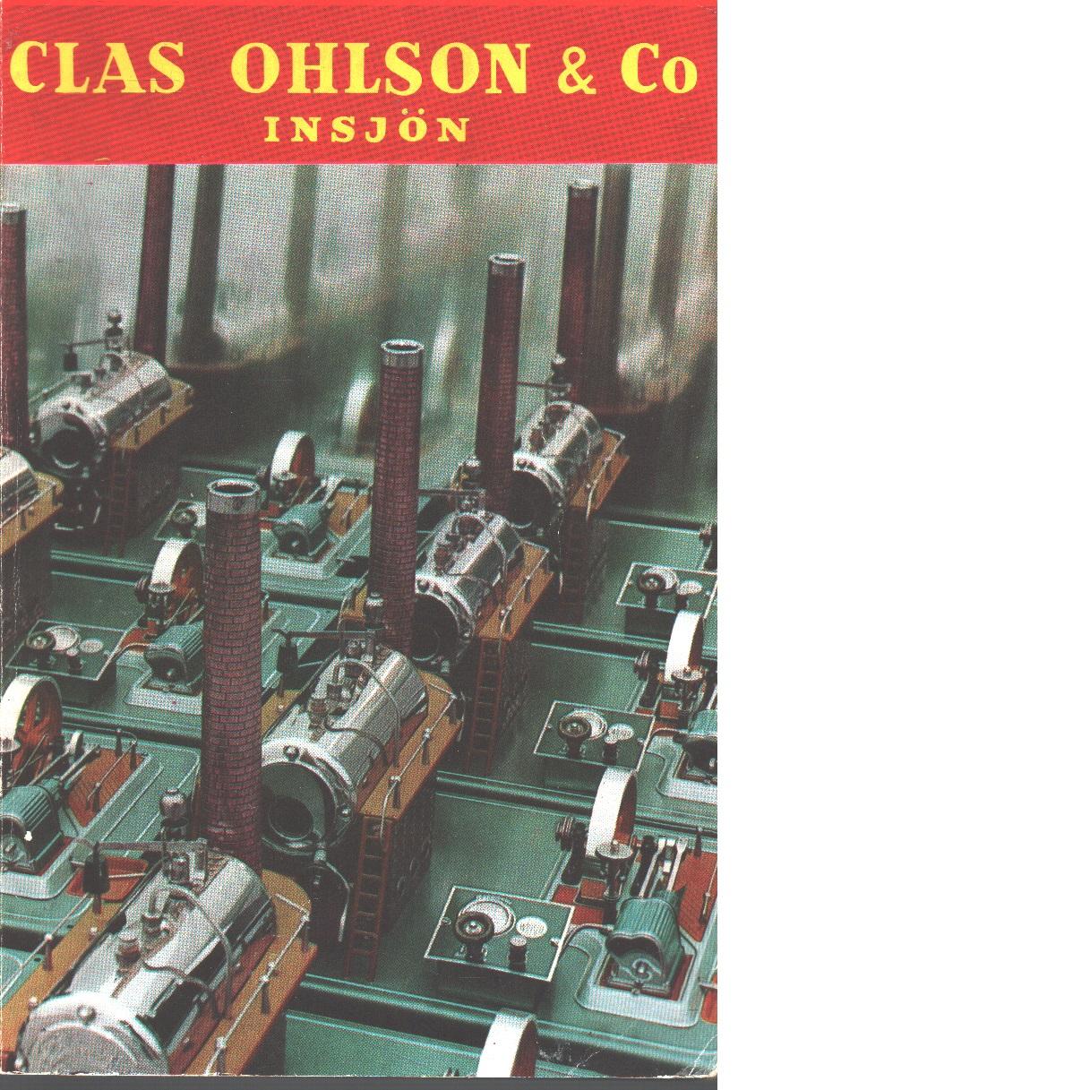Clas Ohlson: 1961 - 62   års katalog - Clas Ohlsson & Co