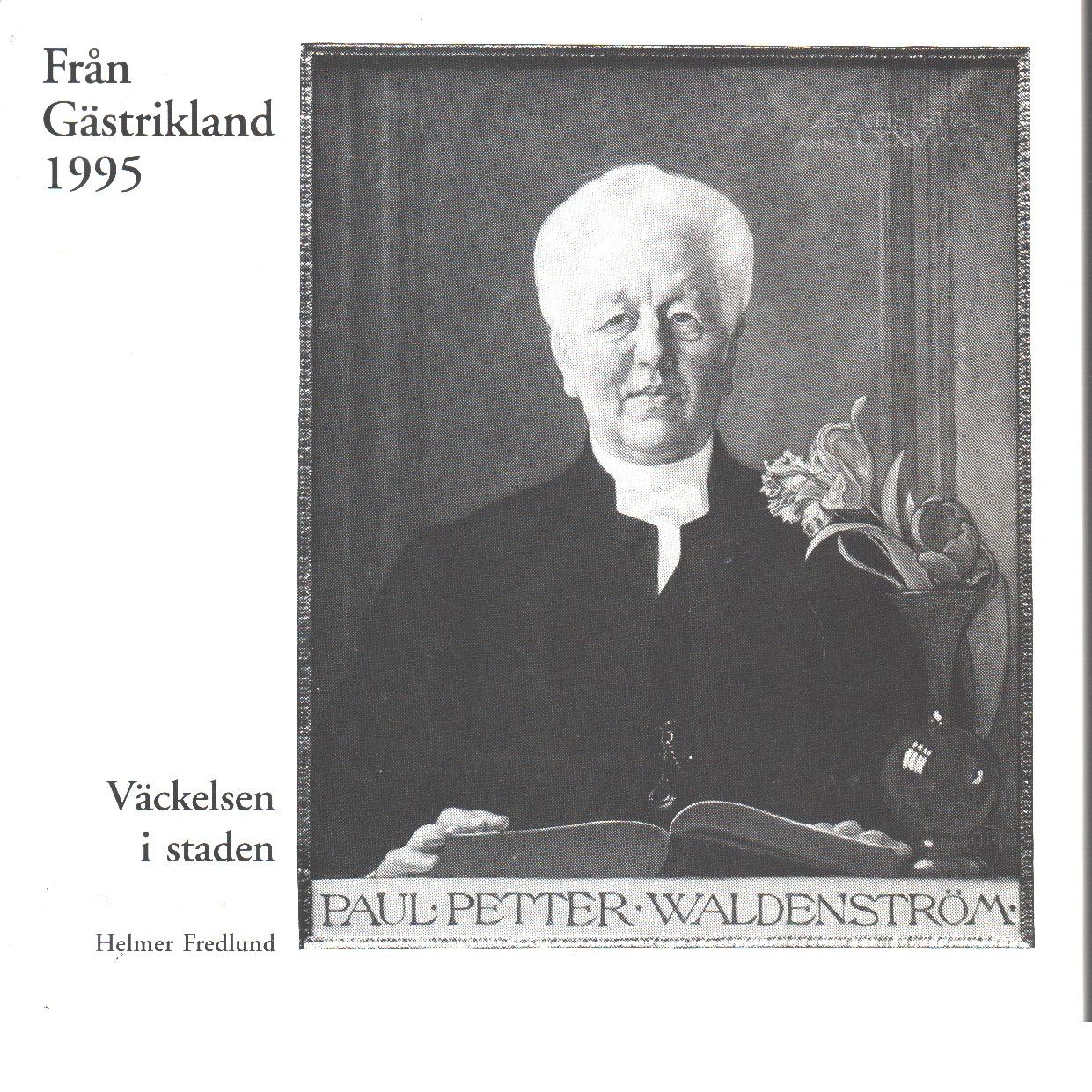 Från Gästrikland 1995 - Red. Gästriklands kulturhistoriska förening