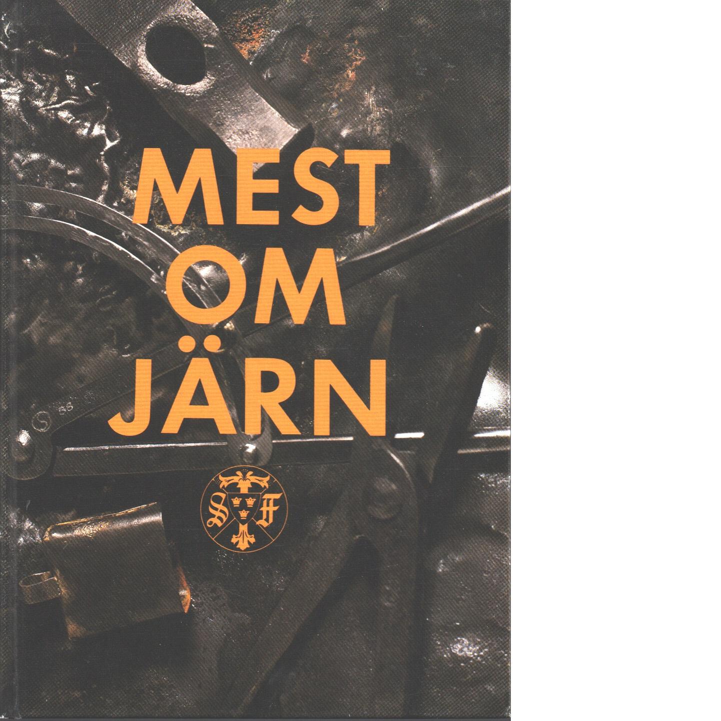Mest om järn stf:s årsbok 1989 - Red.
