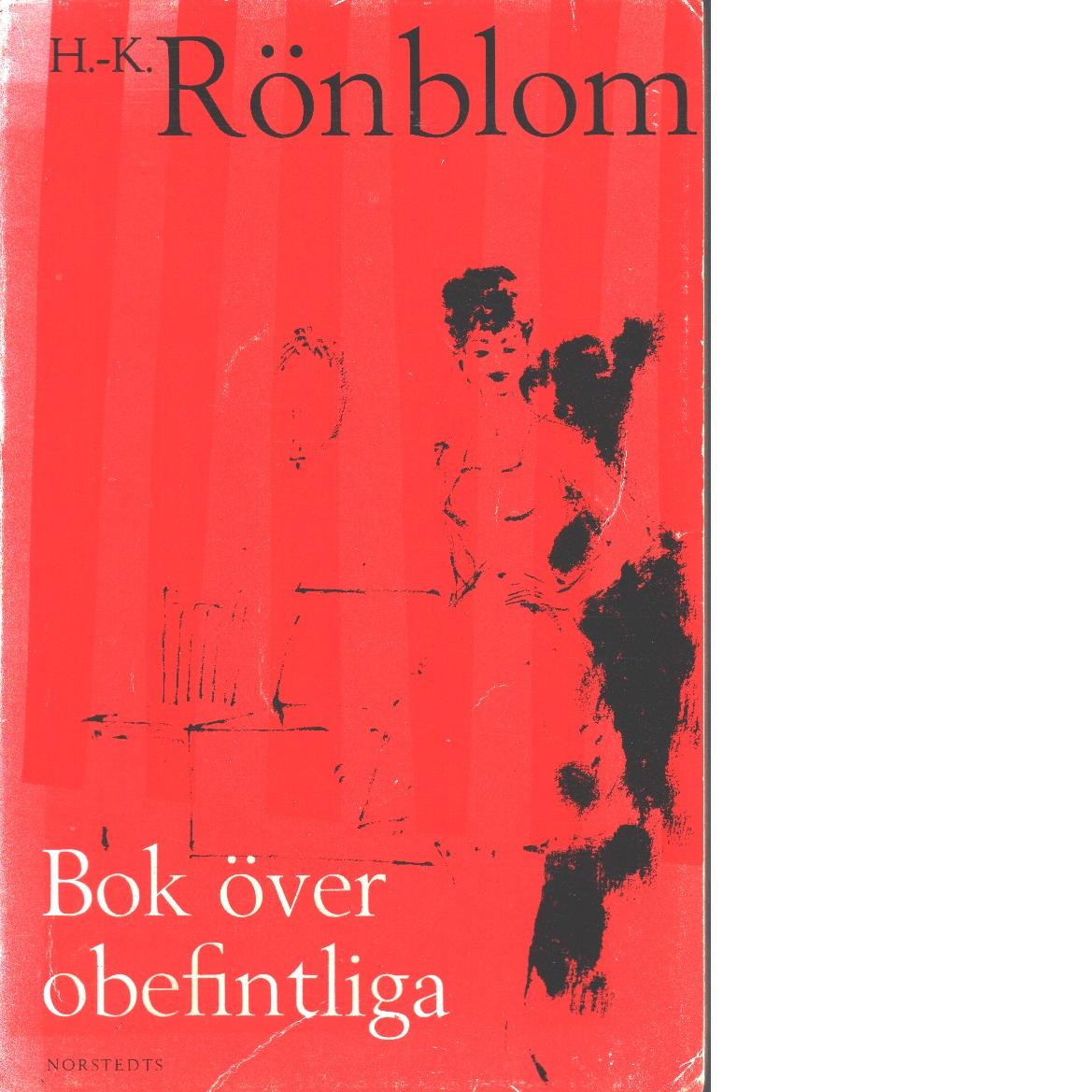Bok över obefintliga - Rönblom, Hans-Krister