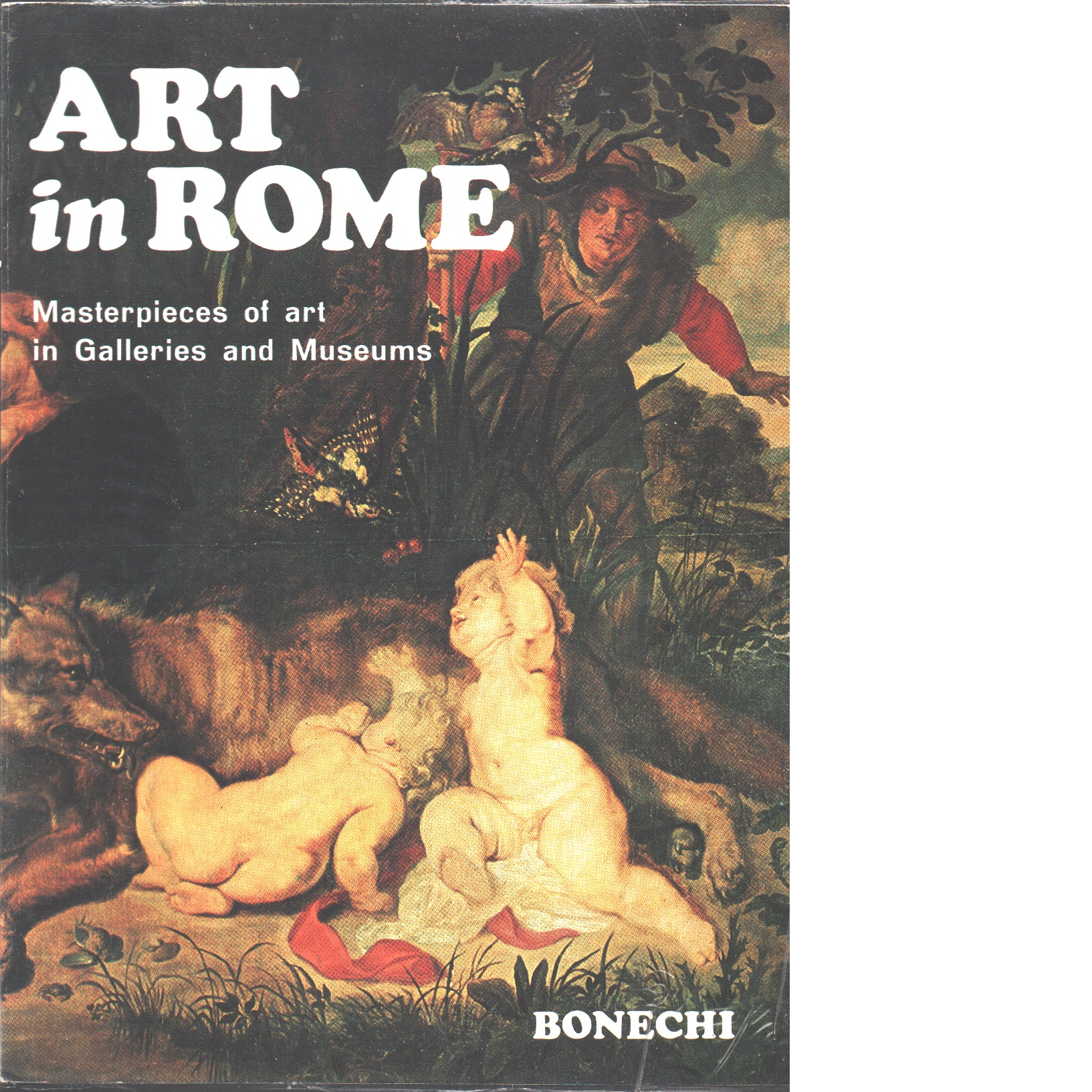 Art in Rome : masterpieces of art in galleries and museums - Red.