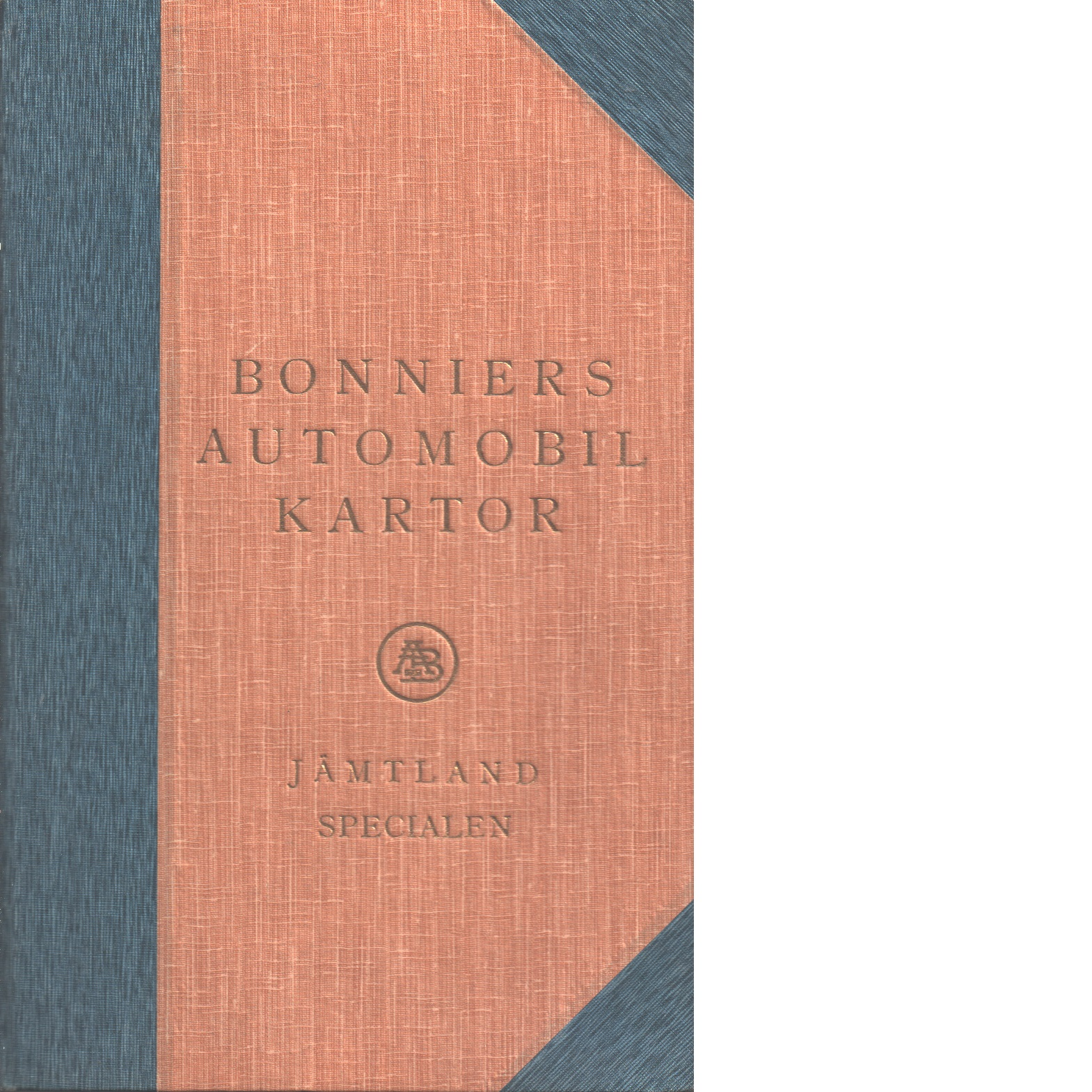 Bonniers Automobilkartor Jämtland..specialen - Red.