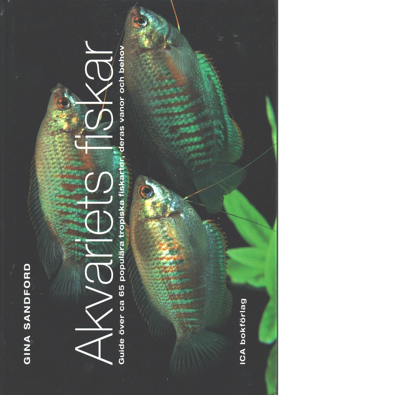 Akvariets fiskar - Sandford, Gina