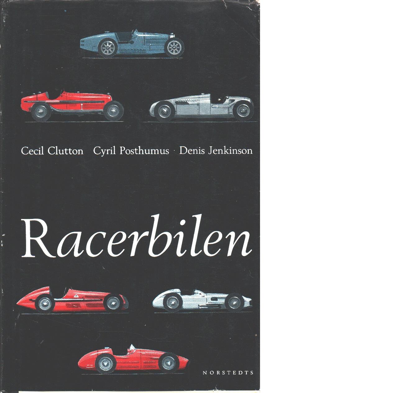Racerbilen - Clutton, Cecil Och Posthumus, Cyril Samt Jenkinson, Denis