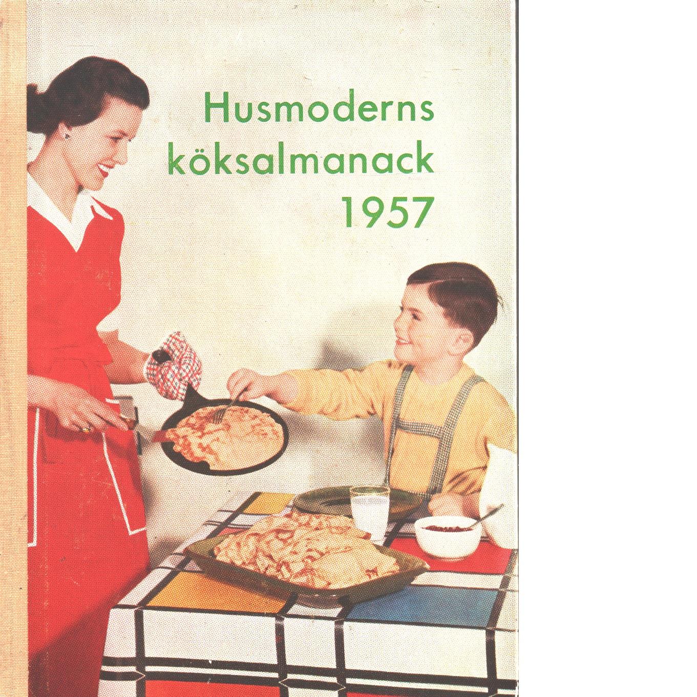Husmoderns köksalmanack 1957 - Red.