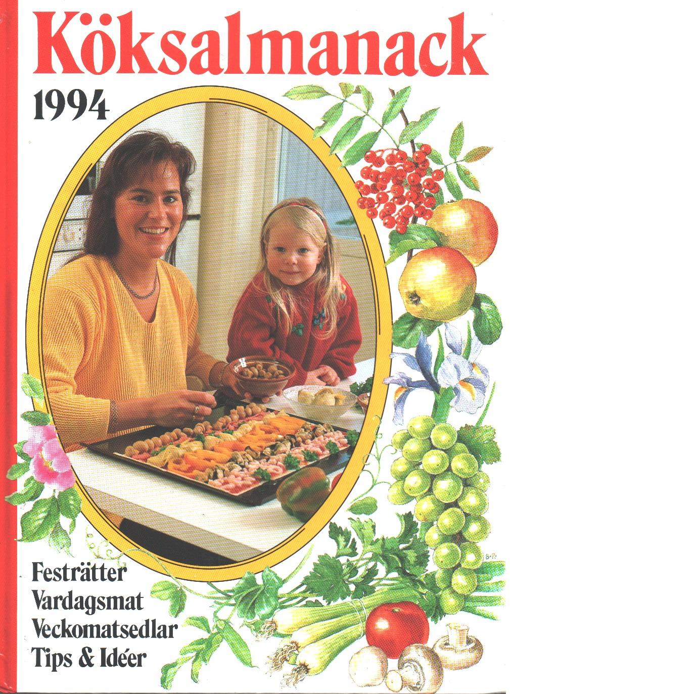 Köksalmanack 1994 - Red.