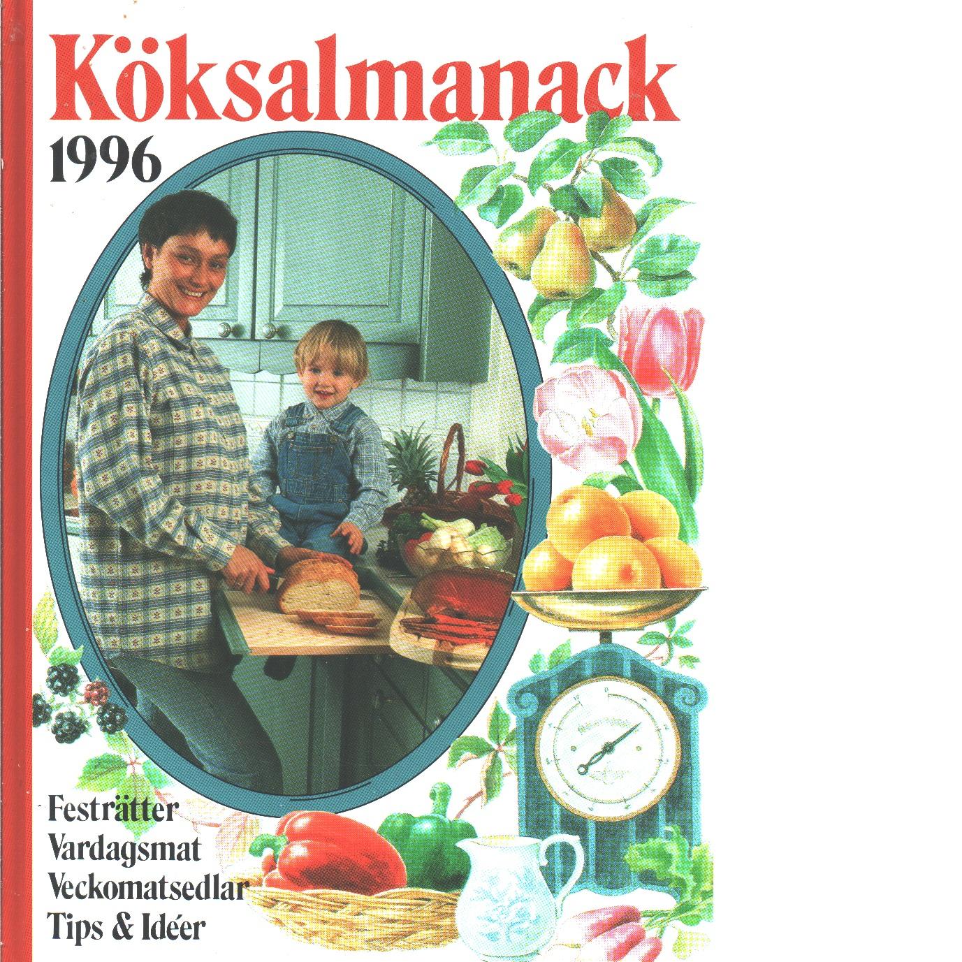 Köksalmanack 1996 - Red.