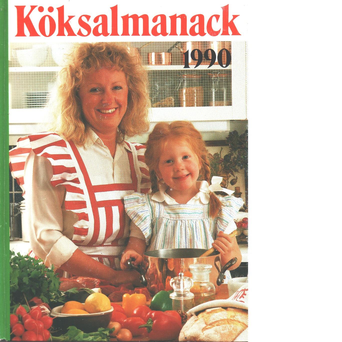 Köksalmanack 1990 - Red.