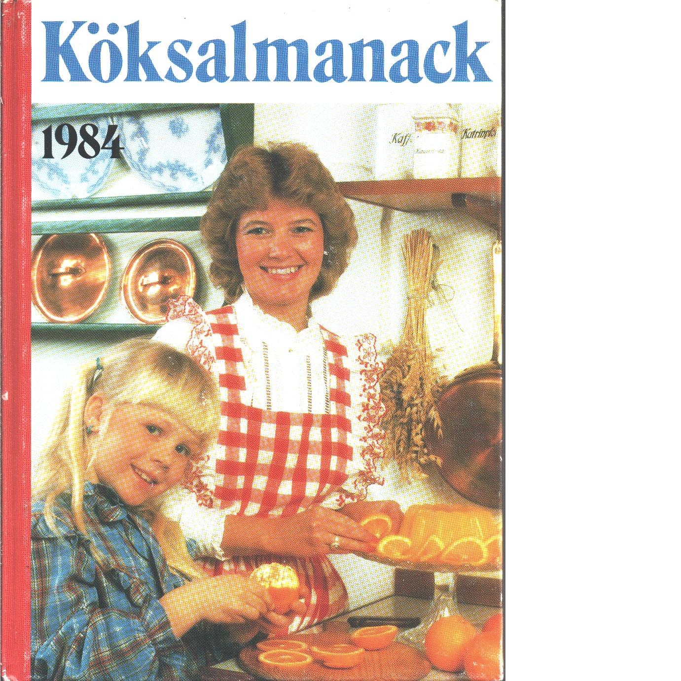 Köksalmanack 1984 - Red.