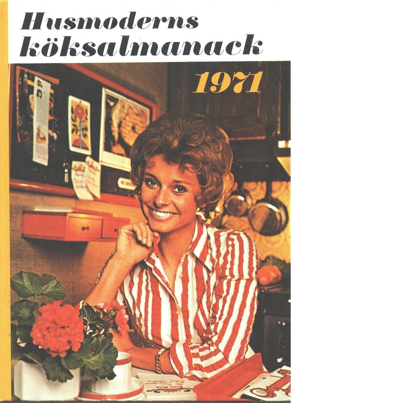 Köksalmanack 1971 - Red.