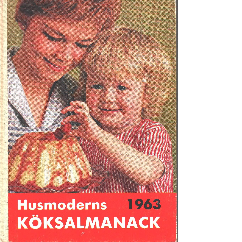 Husmoderns köksalmanack 1963 - Red.