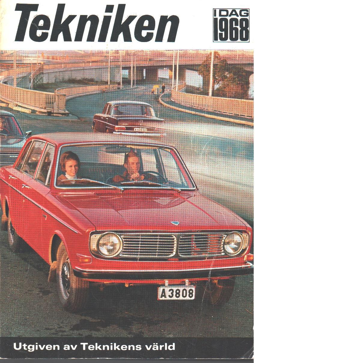 Tekniken i dag 1968 - Red.
