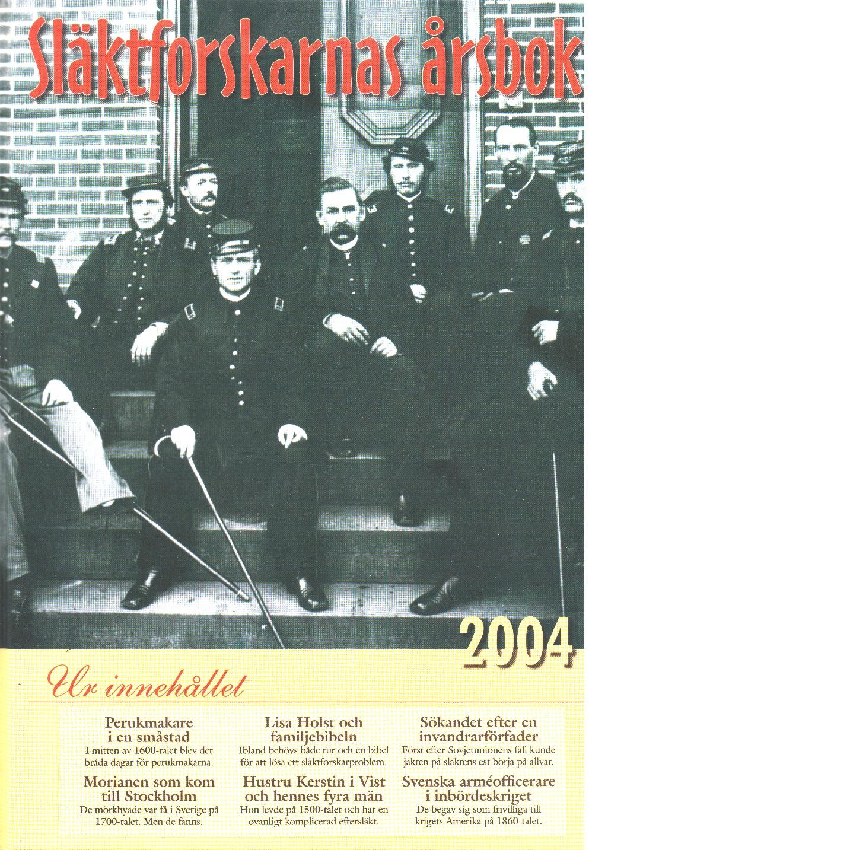 Släktforskarnas årsbok [20]04 - Red.