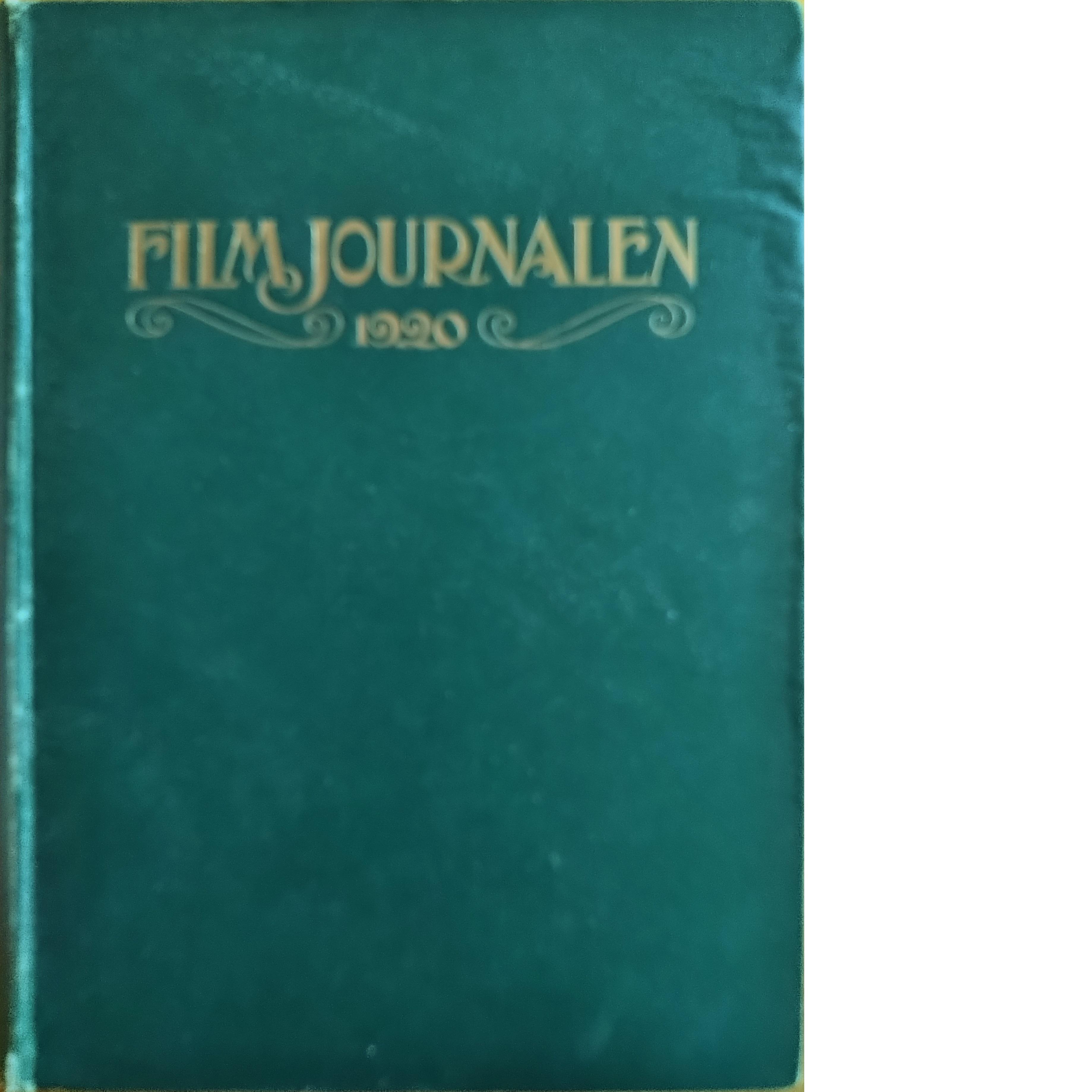 Filmjournalen 1919 1-4 + 1920 1-15 - Red.
