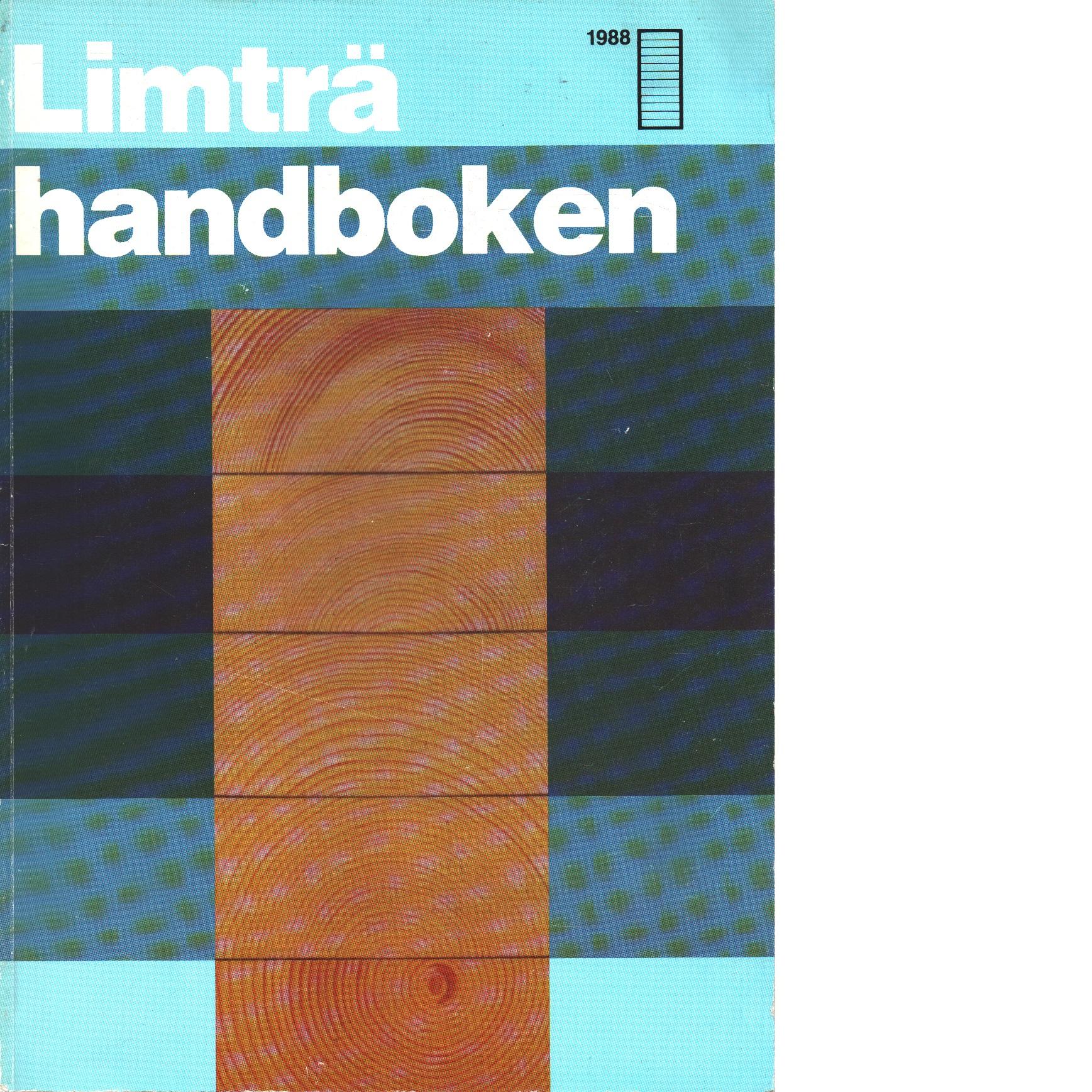 Limträhandboken - Carling, Olle