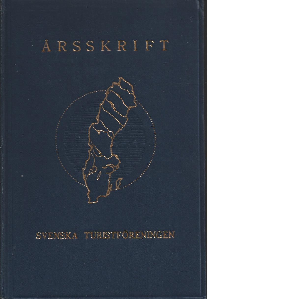 STF:s årsskrift 1932 - Red.
