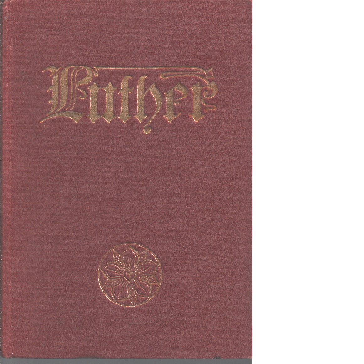 Luther : en livsbild - Scheffer, Henrika