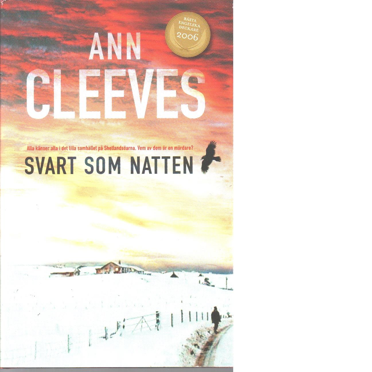 Svart som natten - Cleeves, Ann