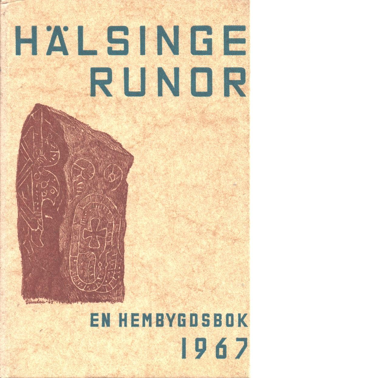 Hälsingerunor 1967 - Red.