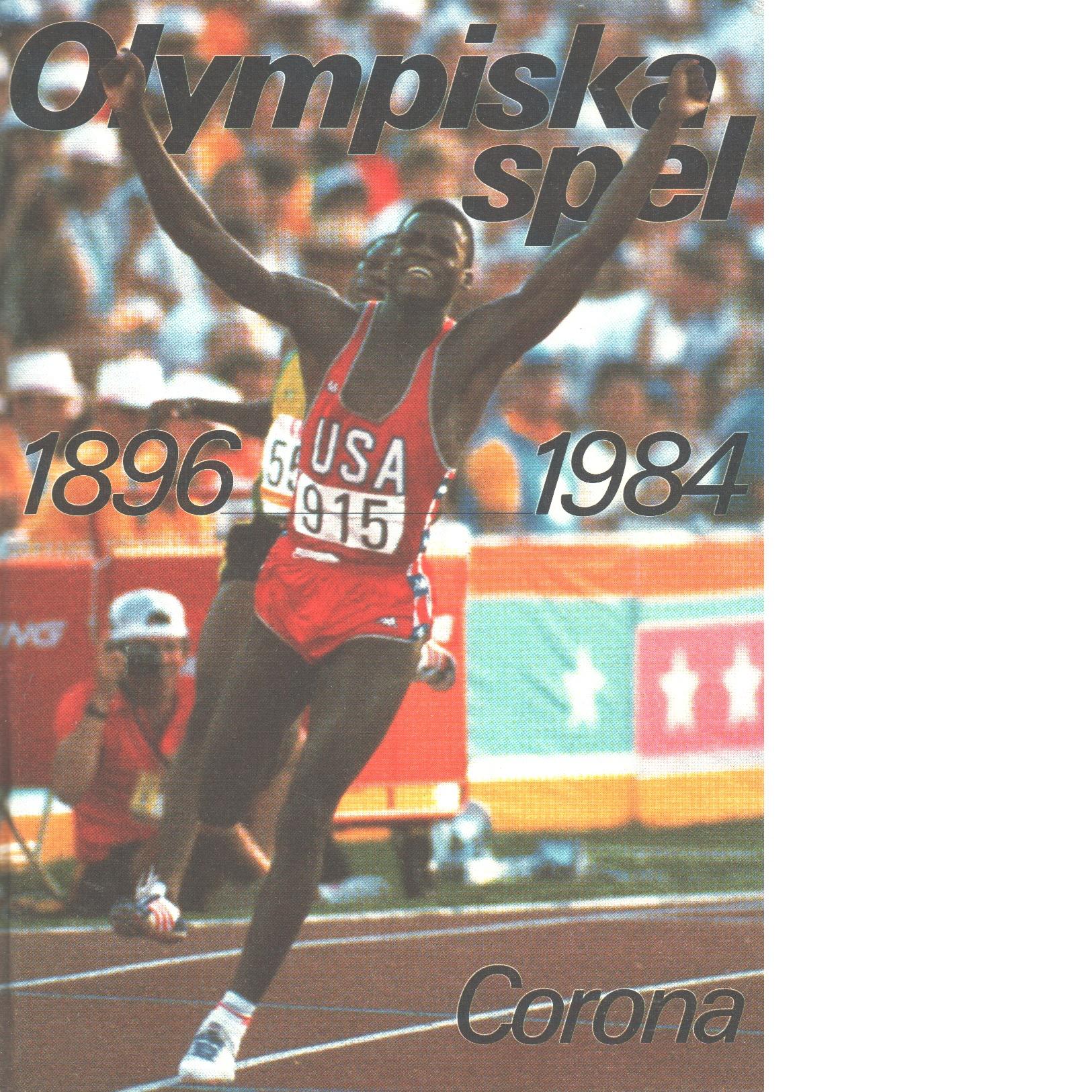 Olympiska spel 1896-1984 - Red.