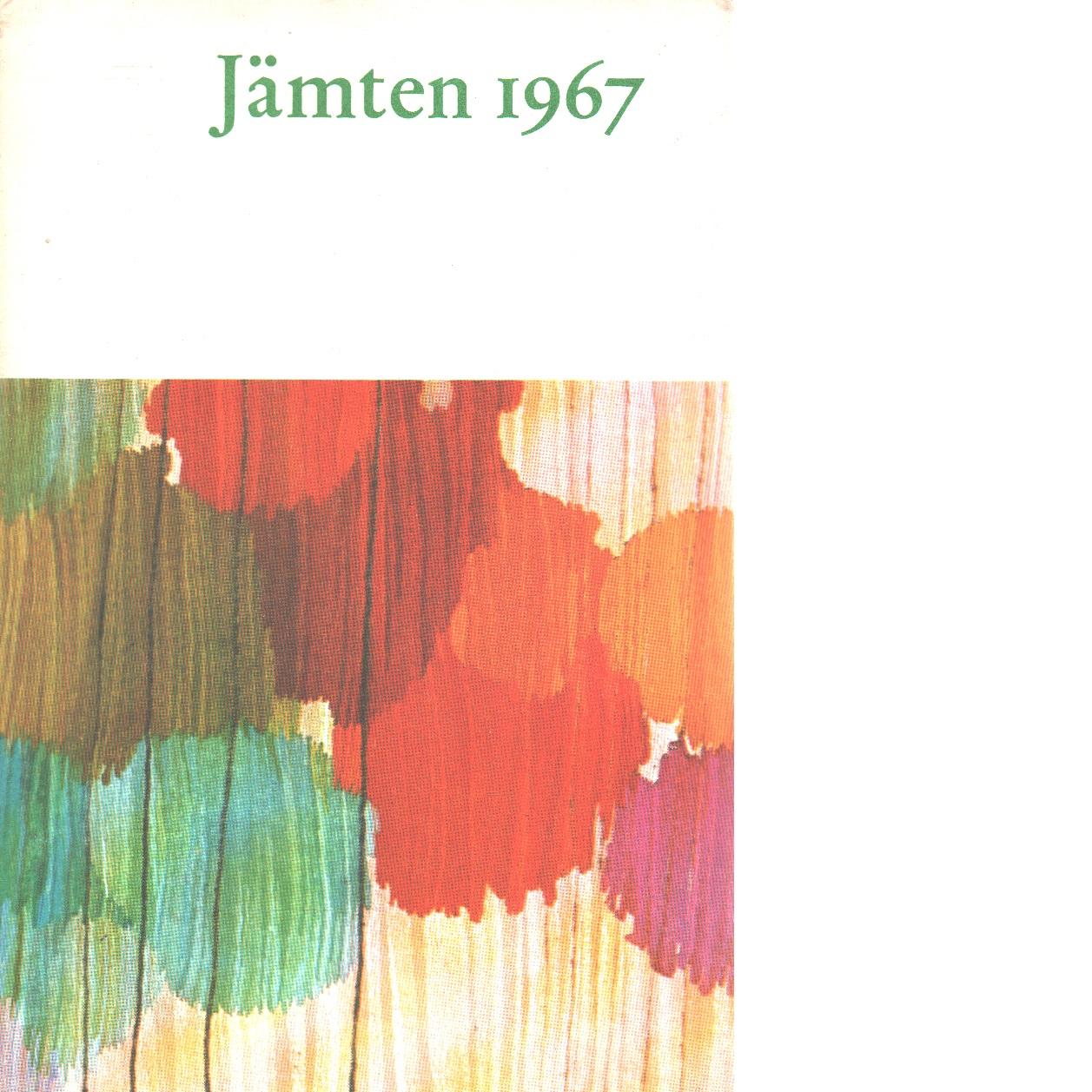 Jämten 1967 - Rosander, Göran