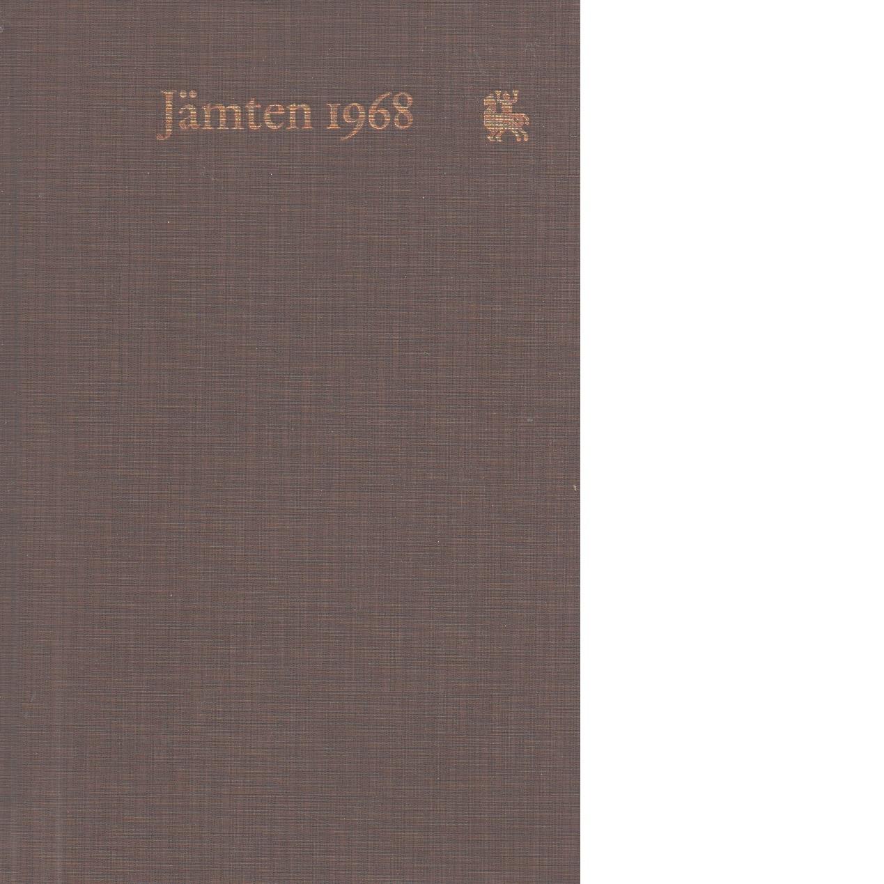 Jämten 1968 - Rosander, Göran